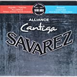 Savarez Saiten für Klassikgitarre Alliance Cantiga Satz 510ARJ Mixed Tension blau-rot Diskant normal, Bass high