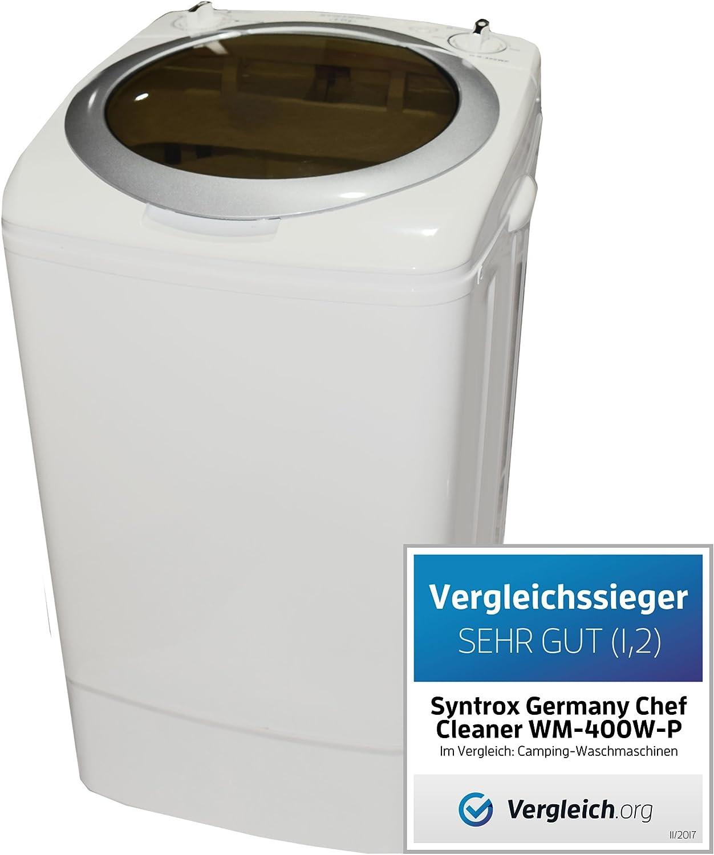 Syntrox Germany - Minilavadora con bomba y centrifugadora para ...