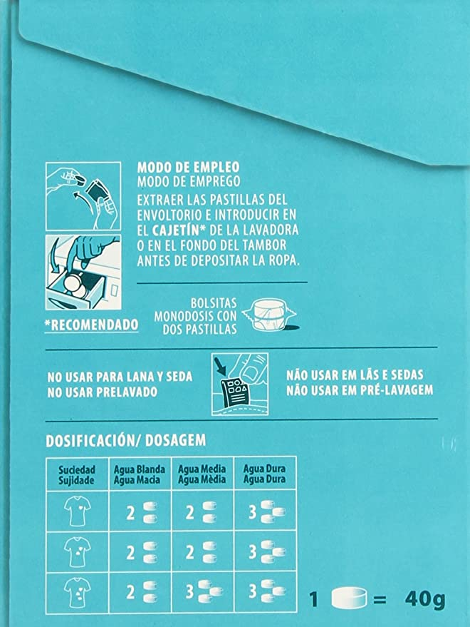 Punto Matic - Spa Fragancias Termales - Detergente en pastillas ...