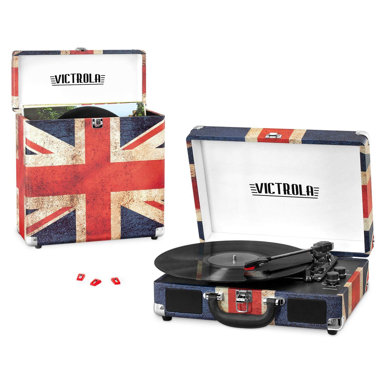 Victrola Record Player Bundle Incluye un Tocadiscos de 3 ...