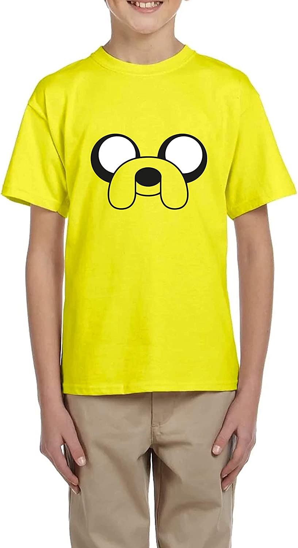 Jake - Camiseta niño Amarilla Manga Corta: Amazon.es: Ropa y accesorios