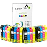 Colour Direct 16XL, cartuchos de tinta, de alta capacidad, compatibles, reemplazo para impresoras Epson WorkForce WF-2010W, WF-2510WF, WF-2520NF, WF-2530WF, WF-2540WF