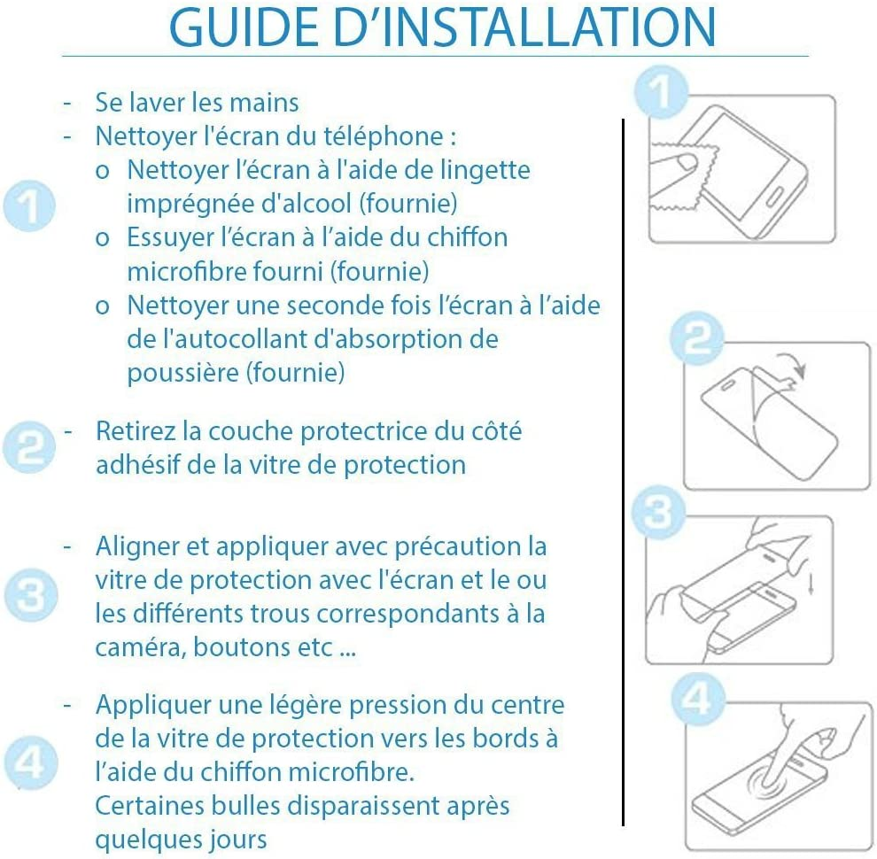 5.5 shopinsm Art/® Pellicola Protettiva per Elephone P8/ 2017