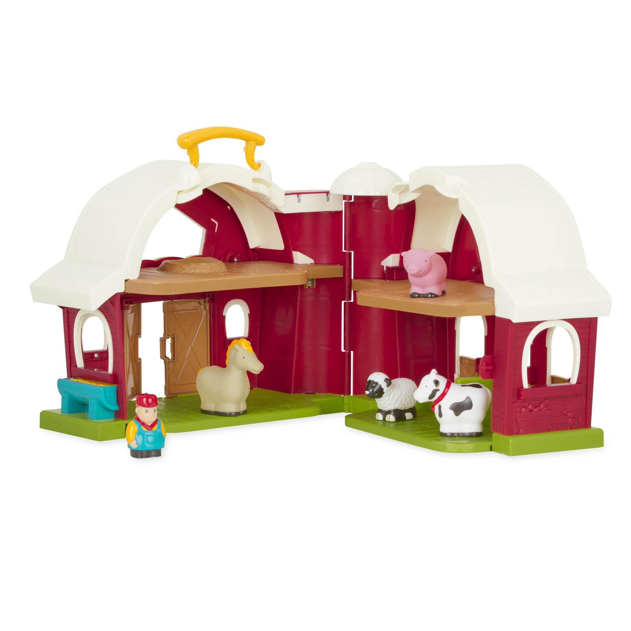 Battat - Big Red Barn - Animal Farm Playset for Toddlers ...