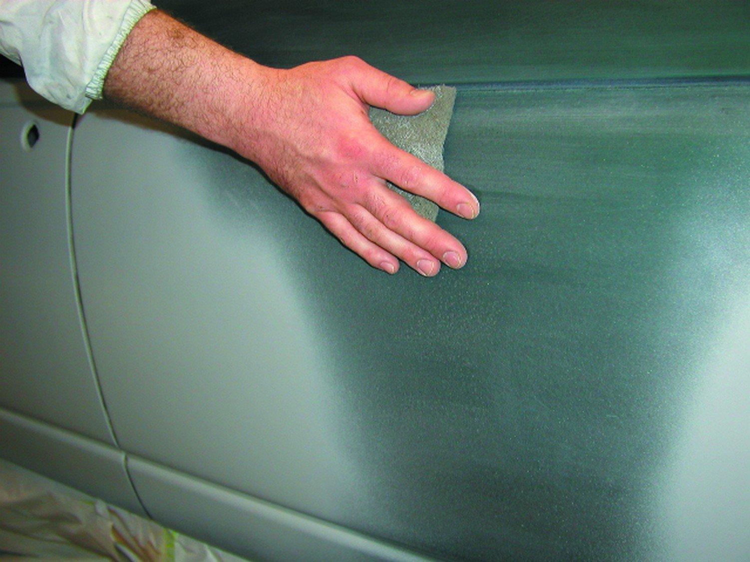 Scotch-Brite(TM) Color Prep Scuff Grey 07748, Silicon Carbide, 15' Length x 4-3/4'' Width, Gray  (Pack of 1)