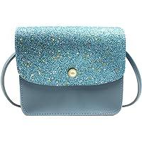Girls Sequins Glitter Crossbody Purse Sparkle Handbags Messenger Shoulder Bags