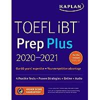 TOEFL iBT Prep Plus 2020-2021: 4 Practice Tests + Proven Strategies + Online + Audio