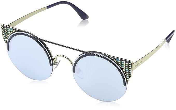 Bvlgari 0Bv6088 20206J 54, Gafas de sol Unisex-Adulto, Azul ...