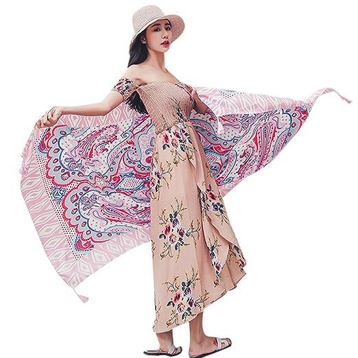 7351bab86a Summer Beach Vacation Lightweight Shawl Scarf Cotton Linen Wrap ...