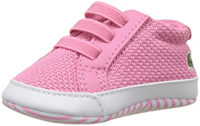 93421c8d6985 Lacoste Baby Pink White L.12.12 Crib 318 1 Sneakers-Baby 0
