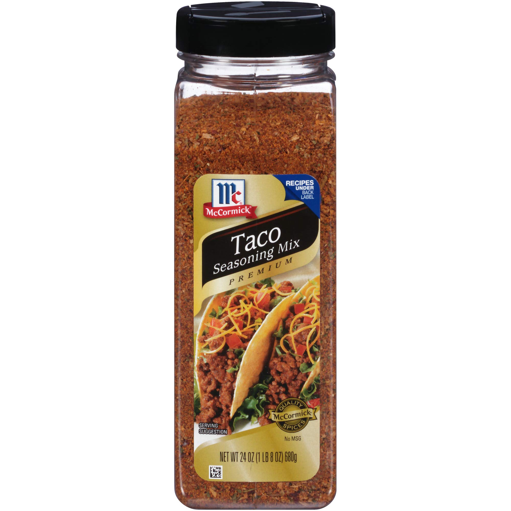 McCormick Premium Taco Seasoning, 24-Ounce (Pack of 6)