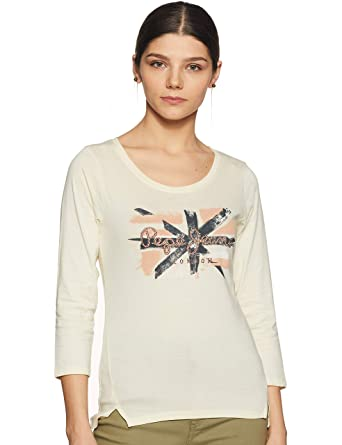 Buy Pepe Jeans Women S Solid T Shirt At Amazon In