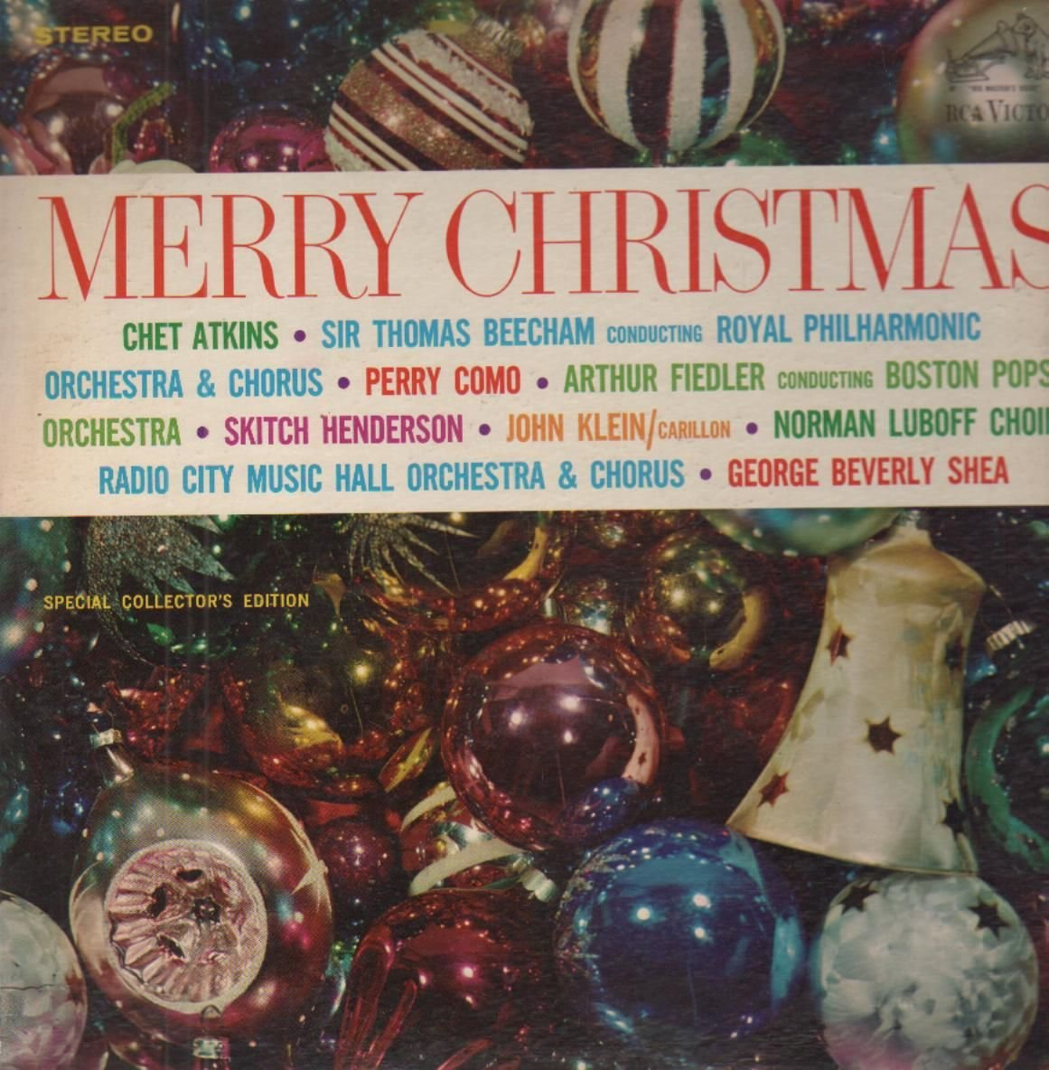 Perry como chet atkins george beverly shea merry christmas special collectors edition amazon com music