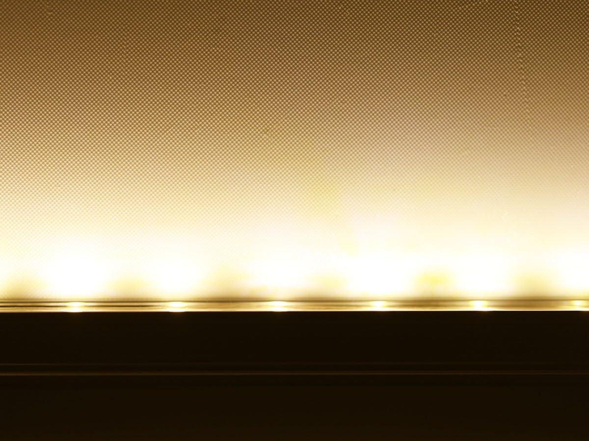 Energiesparend  100m LED Dimmbar LED Streifen Warmwei/ß LED Band 230V LED Lichtband au/ßen Wasserdicht nach IP68