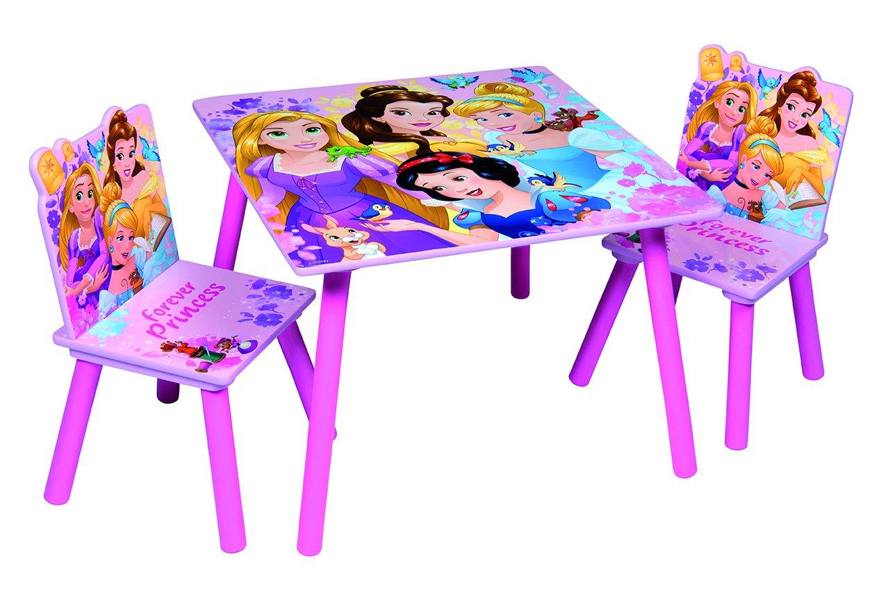 84439baa297a Disney, Princess 48559-s – Juego de Mesa + 2 sillas, MDF,