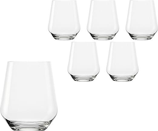 6er set stölzle Lausitz whisky vasos quatrophil 370ml calidad premium