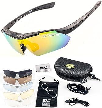 FreeMaster - Gafas de ciclismo con lentes polarizadas, gafas de sol para deporte, antiniebla