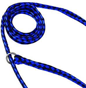 Guardian Gear Animal-Control O-Ring Slide Leads, 5' Long x ⅝ Wide, 12-Pack
