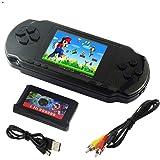 """Imoxx -Console de jeu portable LCD 2,7 """" 16bit PXP3 slim Retro Video Game Player Jouets pour enfants + de 10000 jeux inclus"""
