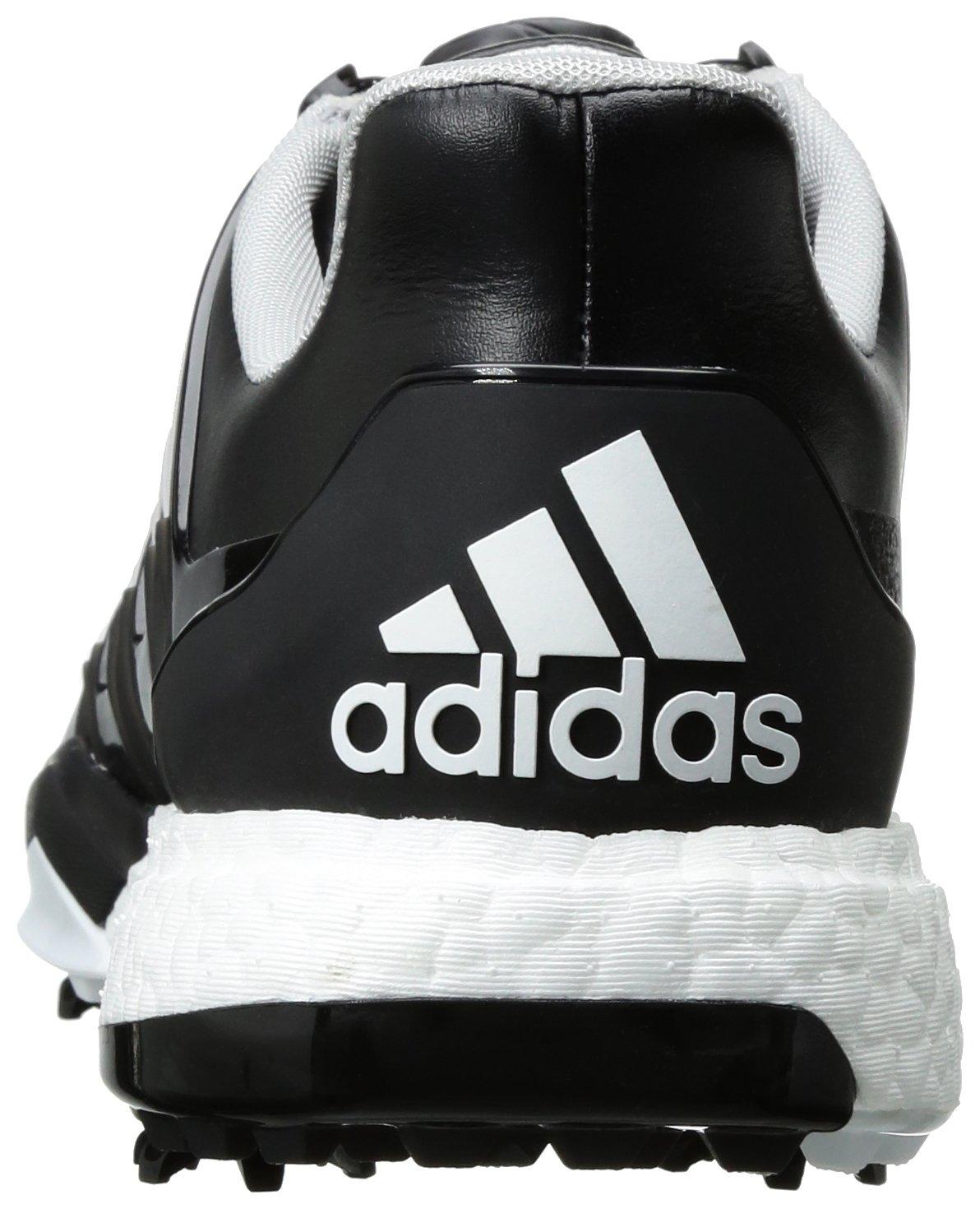promo code a163a f3a7a Zapatillas de golf adidas Powerband Boa Boost Núcleo Negro   Blanco