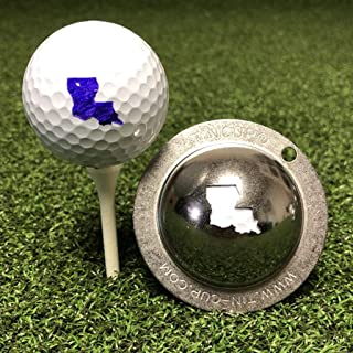 product image for Tin Cup Louisiana State Golf Ball Custom Marker Alignment Tool
