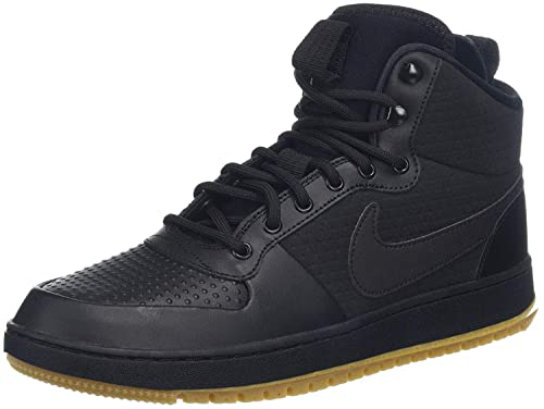 info for new york classic shoes Nike Men's Ebernon Mid Winter Gymnastics Shoes, Black/Gum Lt ...