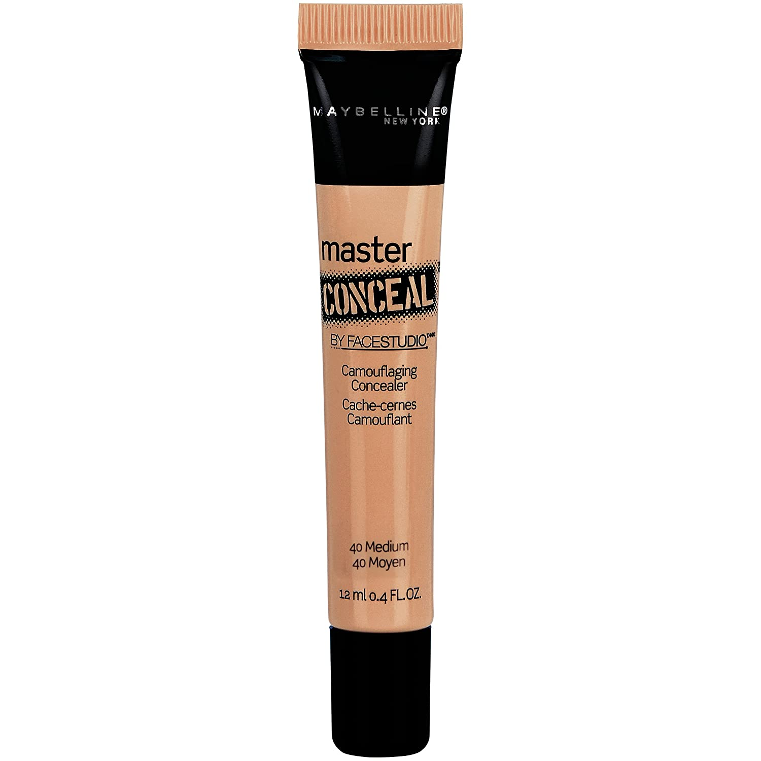 Maybelline New York Face Studio Master Conceal Makeup, Medium, 0.4 Fluid Ounce by Maybelline New York K1819600