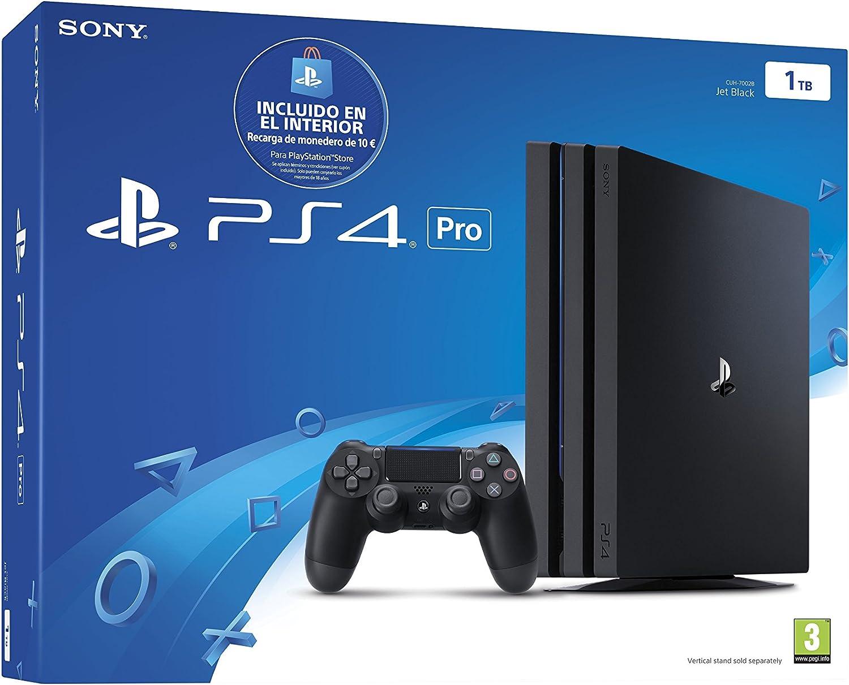 PlayStation 4 Pro (PS4) - Consola de 1 TB (incluye recarga de ...