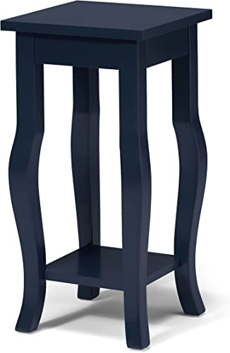 Kate and Laurel Lillian Wood Pedestal End Table