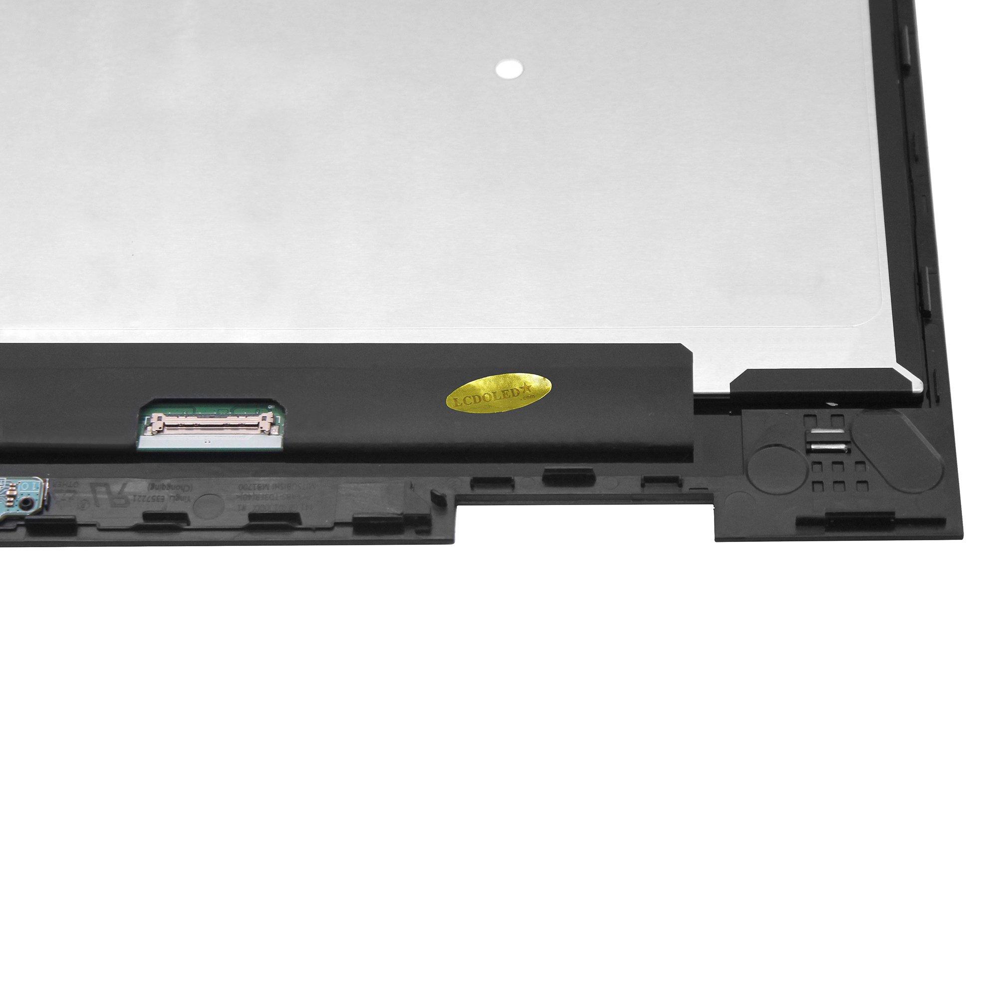 LCDOLED 15.6'' FullHD IPS LCD Touch Screen Digitizer Assembly + Bezel + Board for HP Envy x360 15-bq 15-bq000 15-bq100 15m-bq000 15m-bq100 15m-bq021dx 15m-bq121dx 15-bq175nr 15-bq075nr 15-bq051nr by LCDOLED (Image #5)
