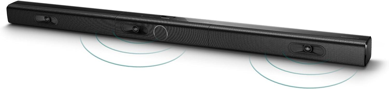 Philips HTL2183B - Barra de sonido con subwoofer y 3.1 canales (Bluetooth, HDMI, ARC, reproduce: DVD/BD, consolas, reporductores MP3), color negro: Amazon.es: Electrónica