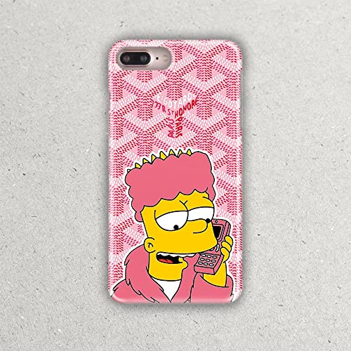 buy popular 7eedd 749e9 Amazon.com: Luxury Fashion Goyard Bart The Simpsons Fandom Phone ...
