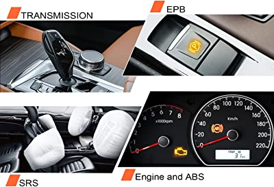 Details about Ancel FX6000 Car Airbag SRS ABS Engine AT/CVT all system scan EPB DPF TPMS reset