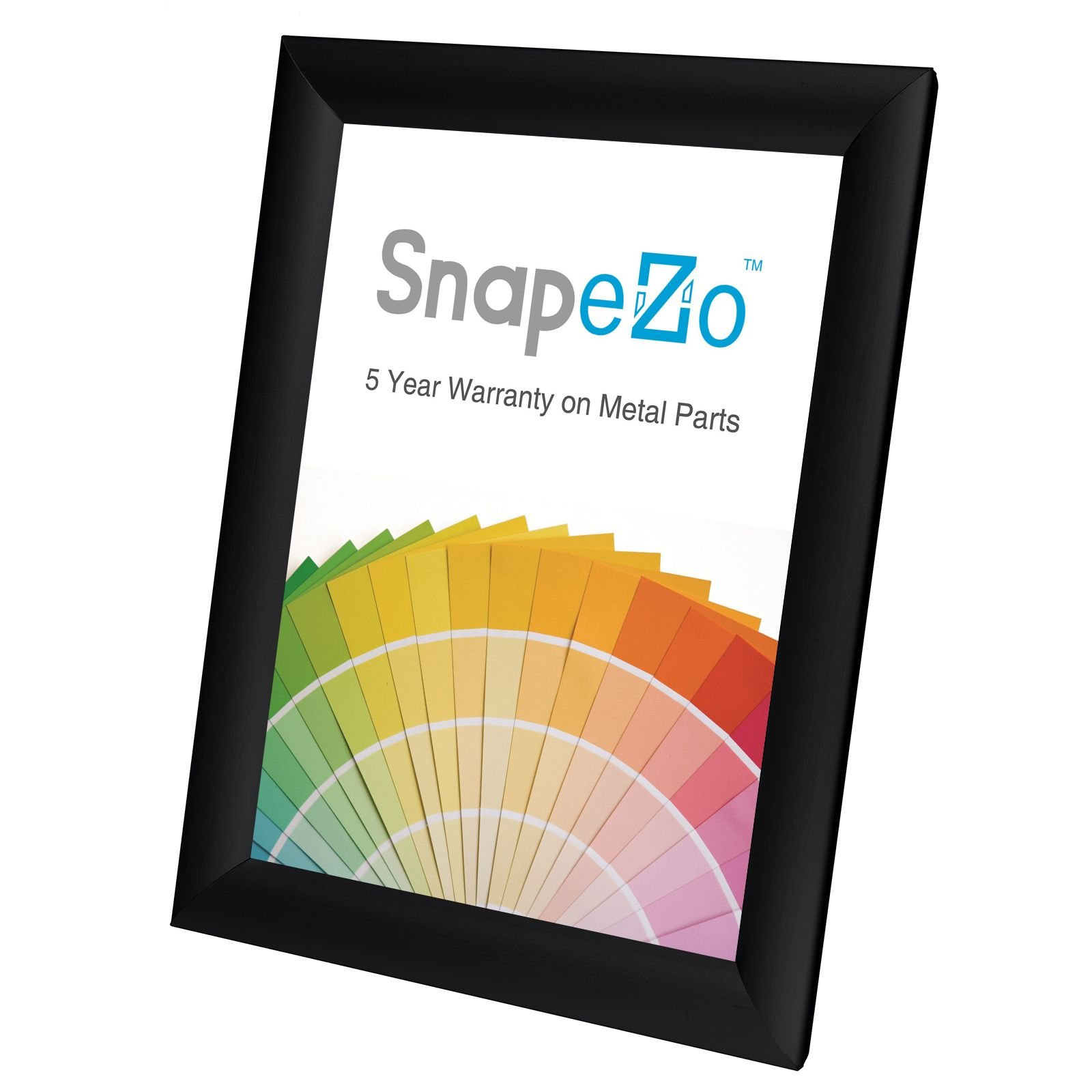 SnapeZo Weather Resistant Black Poster Frame 8.5x11 Inches, 1.38 Inch Outdoor Profile, Outdoor Poster Display Unit by SnapeZo (Image #8)