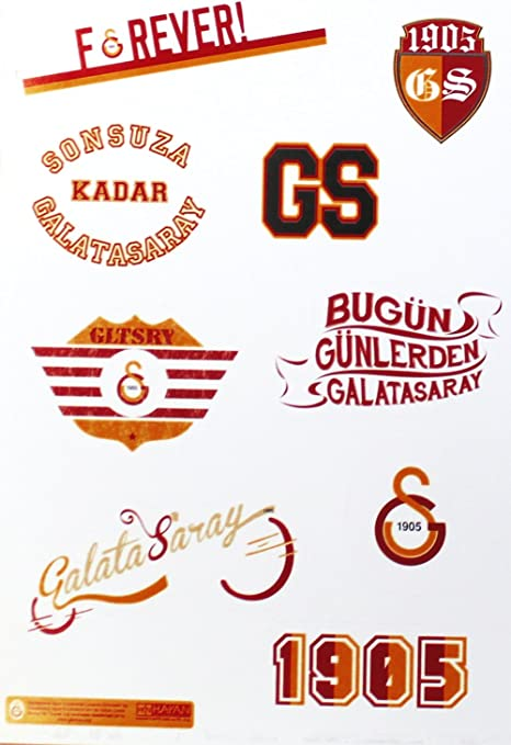/Forever 24/x 16/cm Galatasaray autocollants voiture Carte/