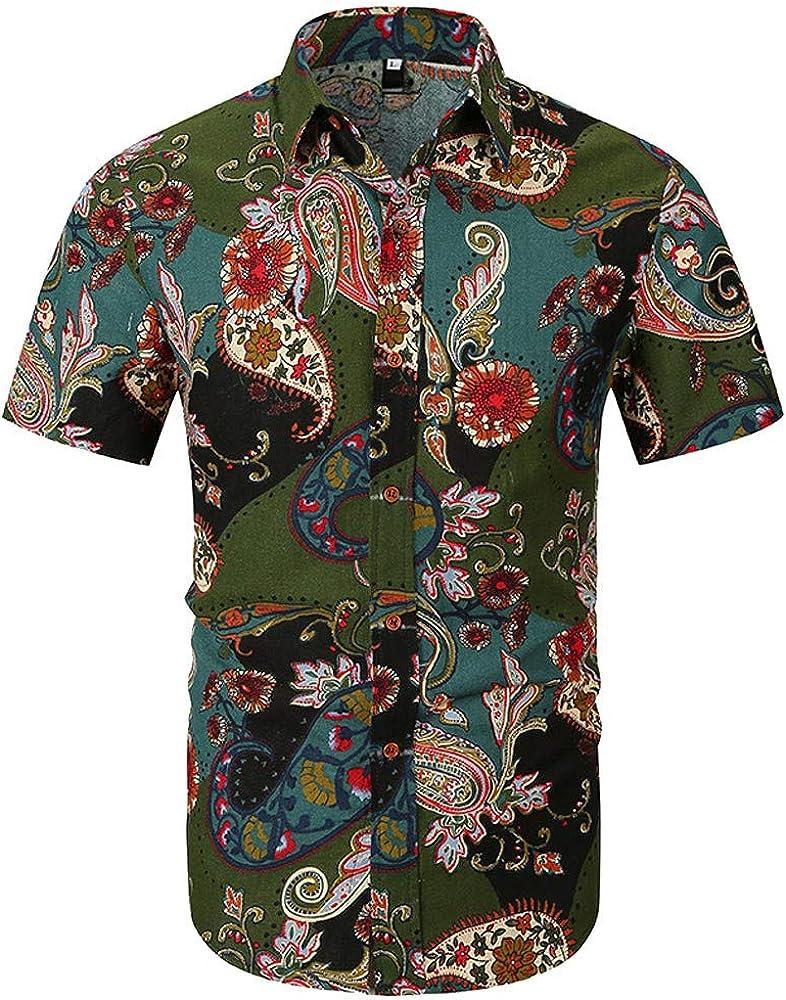 Darringls_camisetas para Hombre, Chaleco de Deporte para Hombre Camisetas Manga Corta Impresas Blusa Tops Vest Tank Tops Camisas de Tirantes Hombre Moda Casual Slim Cosiendo: Amazon.es: Ropa y accesorios