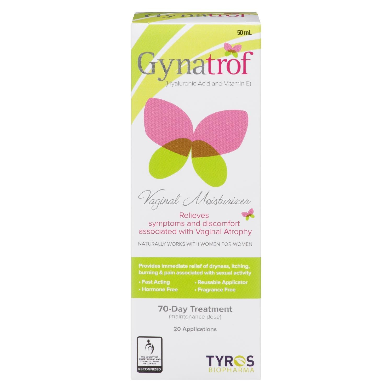 GYNATROF Natural Vaginal MOISTURIZER 50ML by GYNATROF