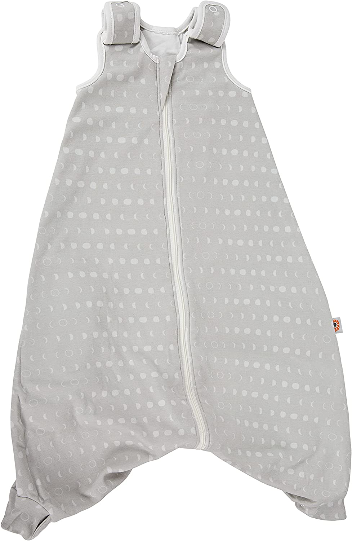 Ergobaby Saco de Dormir para bebé (para Todo el año, con Orificios para cinturón, 6-18 Meses, algodón TOG 1 Verano Invierno, On The Move Moon Phase