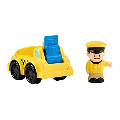 Fisher-Price Little People Taxi: Toys & Games
