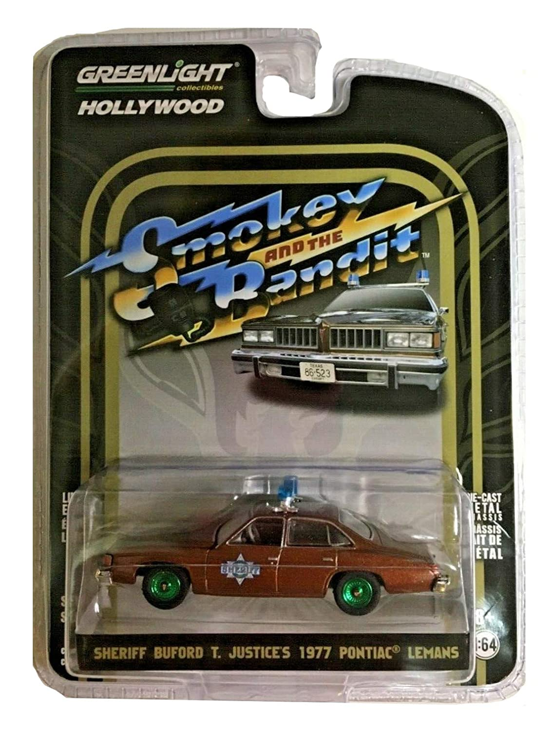 Greenlight Sheriff Buford T Justices 1977 Pontiac  limited edition  1-64 scale