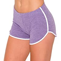 Always Women Workout Yoga Shorts - Premium Buttery Soft Stretch Cheerleader Running Dance Volleyball Short Pants with…