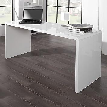 CAGÜ Design Schreibtisch [Soho] Weiss Hochglanz 160cm, Neu!