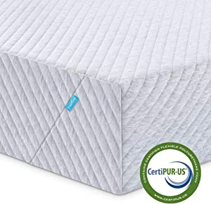 Queen Mattress, Inofia Memory Foam Mattress in a Box, 8 inch Responsive Bed Mattress with Support and Cooling System