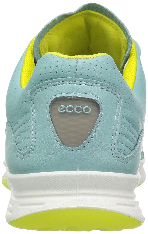 ECCO Women's Exceed Sport Fashion Sneaker B01EM6YMS8 36 EU/5-5.5 M US|Aquatic/Aquatic/Sulphur