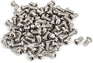304 Stainless Steel Phillips Round Pan Head Machine Screws M2X3MM