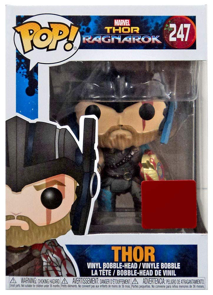 Funko Pop Vinyl Marvel Thor Ragnarok Collector Corps Thor With Helmet Figure 247