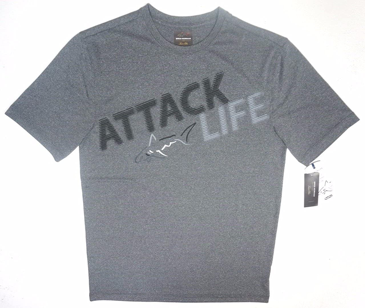 Greg Norman Mens Attack Life Graphic T-Shirt