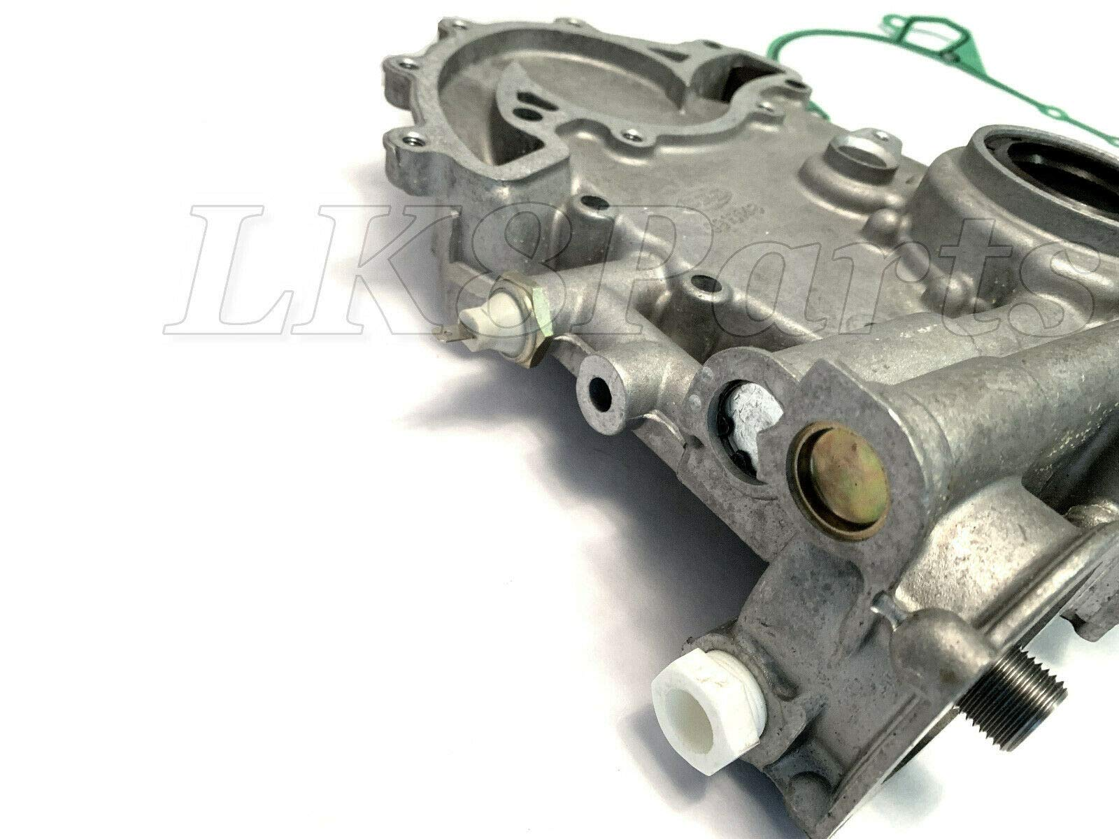 RANGE ROVER P38 95-99 DISCOVERY OIL PUMP FRONT ENGINE COVER W/GASKET ERR6438 by Proper Spec (Image #3)