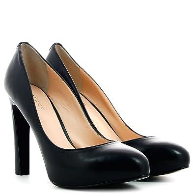 1d27d698f71c57 Guess Femme Escarpins à talons hauts, FL3SNELEA08, Noir, 39,5 ...