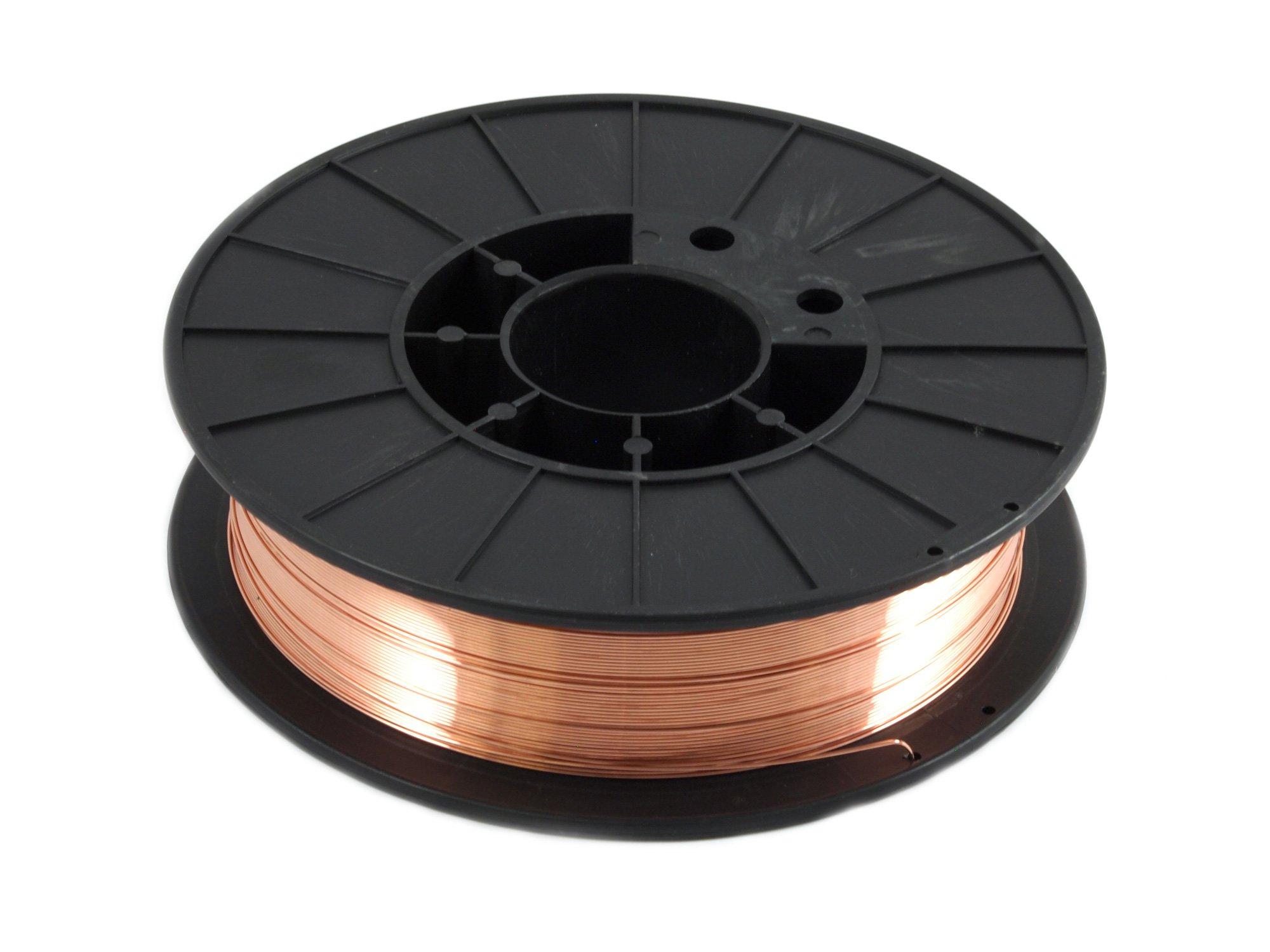 Forney 42287 Mig Wire, Mild Steel ER70S-6.035-Diameter, 10-Pound Spool